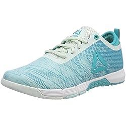 Reebok Speed Her TR, Zapatillas de Deporte para Mujer, Azul (Blue Lagoon/Solid Teal/Opal/White/Silver 000), 38 EU
