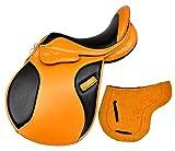 Radical Selle de Cheval en Cuir pour Usage général Taille : 35,6 cm à 45,7 cm