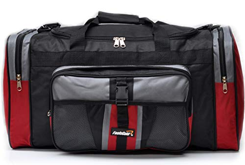 b64b5ba0f5 foolsGold Sports Holdall Bag 24 inch 50 Litre - Red
