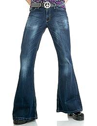 Amazon.es  Pantalon Campana Hombre - Vaqueros   Hombre  Ropa 59b66d821646