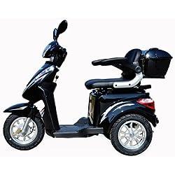 Dreirad Scooter,Seniorenmobil,Elektrofahrzeug,Elektro Scooter ECO ENGEL 500 (schwarz)