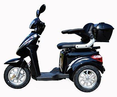 elektroroller senioren Dreirad Scooter,Seniorenmobil,Elektrofahrzeug,Elektro Scooter ECO ENGEL 500 (schwarz)