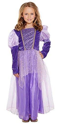 Prinzessin Rapunzel mit langem Haar-Kostüm