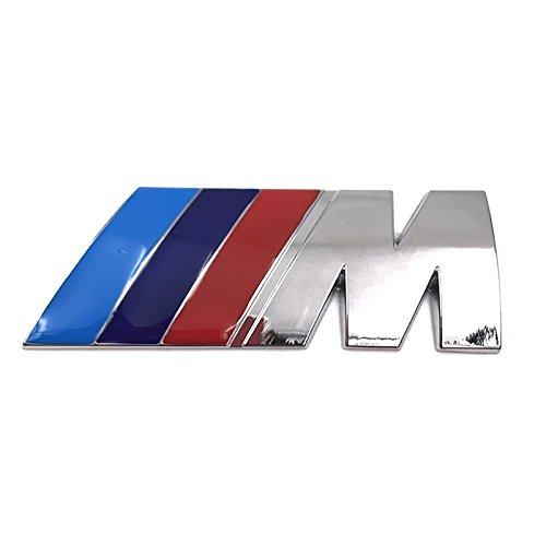 BMW M SPORT Chrome Rear Boot Badge Emblem Badge M3 M5 M6 E46 E36 E90 E92 E39 E60 E87 M POWER