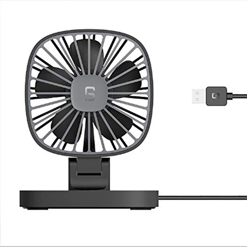 Ningbao Guía Coche Coche Ventilador USB pequeño Ventilador 12 V Coche 24...