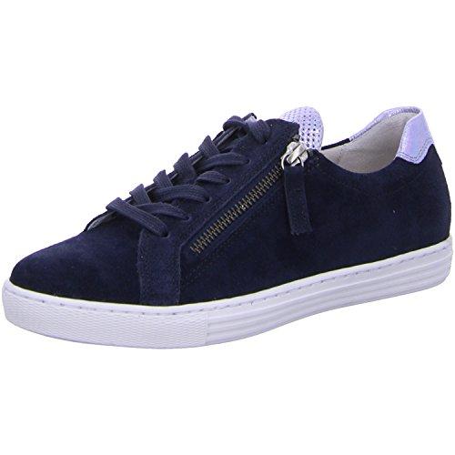 Gabor Shoes Comfort, Scarpe da Ginnastica Basse Donna, Blu (Ocean/Sky 46), 42.5 EU