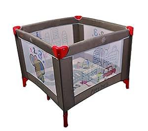 parc filet pliant gris b b s pu riculture. Black Bedroom Furniture Sets. Home Design Ideas