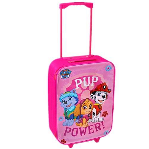Imagen de nickelodeon, patrulla canina  juego de maleta con ruedas,  escolar y bolsa para el almuerzo, rosa, luggage alternativa