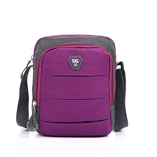 versione coreana degli sport borsa a tracolla/Uomini e donne piccola cartella/Messenger Bag Casual/Impermeabile piccolo zaino/pacchetto portatile Outdoor-G A