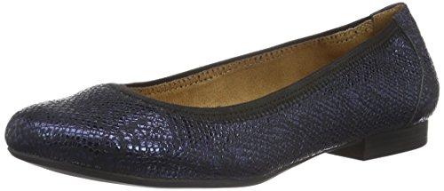 Caprice22101 - Ballerine Donna , Blu (Blau (OCEAN REPTILE 806)), 38.5