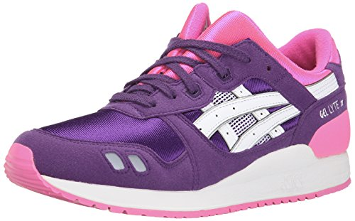 Asics Youths Gel-Lyte III Leather Trainers Violet