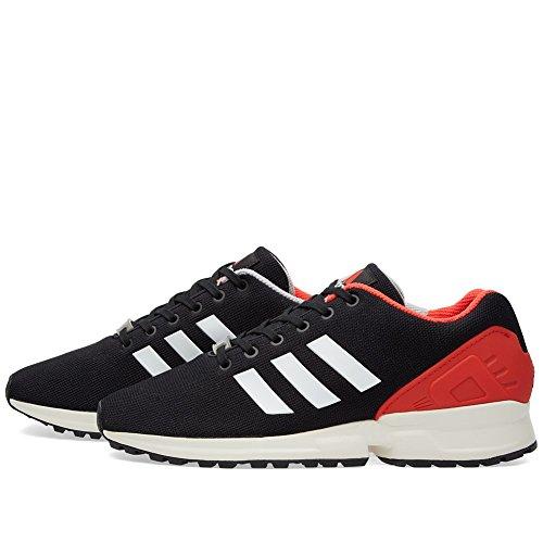 new concept 5d4ee 7f1da ... Zapatos De De Flujo Hombre Negro Zx Adidas BSwq7Cxgnz ...