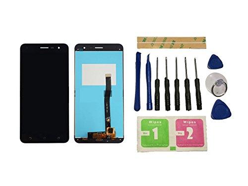 Flügel for Asus Zenfone 3 ZE552KL Z012D 5.5 inch Display LCD Ersatzdisplay Schwarz Touchscreen Digitizer Bildschirm Glas Assembly (ohne Rahmen) Ersatzteile & Werkzeuge & Kleber