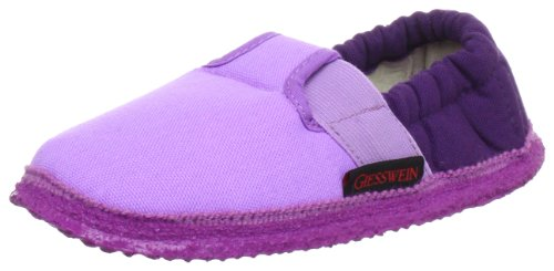 Giesswein 43/10/45633-314, Chaussons mixte enfant Violet (314 Zyklam)