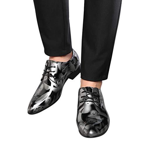 Mocassini Uomo Elegante Festa di Nozze Scarpe da Lavoro Brillanti Vintage Formale Scarpe in Pelle Traspirante Scarpe Vestito da Sera Estate Casual Scarpe da Ginnastica Basse Moda