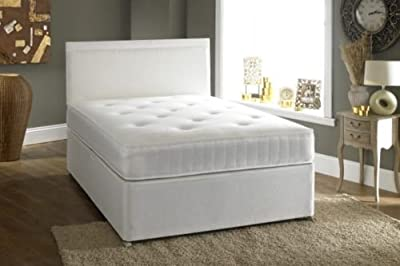 Small Double 4'0 Divan bed - 2 drawers and Ortho Mattress - inexpensive UK light store.