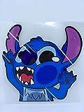 Phone Tattoo Autocollant Personnage Se cogne dans la vitre (Livraison Gratuite en France) (Stitch)