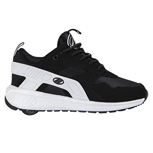 Heelys Force Schuhe schwarz-weiß Black/White, 34 (Mesh-stabilisator)