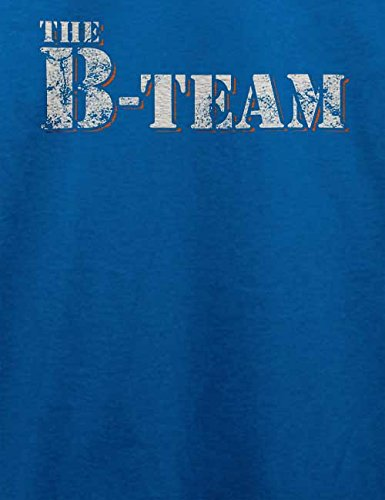 The B Team Vintage T-Shirt Royal Blau