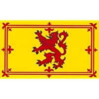 Scotland Flag Display 5ft x 3ft Scottish Lion - Flag: 5ft x 3ft Scottish Lion