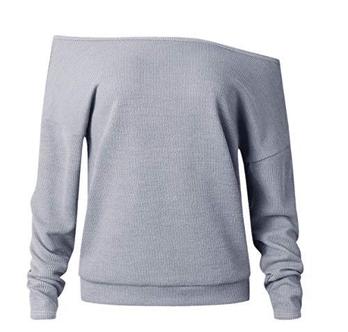 Lucky mall Frauen O-Neck Langarm-Sweatshirt, Blumendruck Patchwork T-Shirt Tops