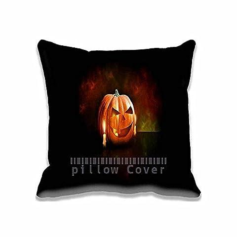 Halloween Pumpkin Home Decor Retangle Oblong Pillow Case Holidays Halloween Printed Throw Pillow Sham Cushion Cover 20x30 Inches