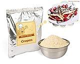 Backmischung für Crêpes, Fertigbackmischung für Crepes, Crepe-Mix, Pfannkuchenteig, Teig-Mix für französische Pfannkuchen – Nur noch Wasser nötig (5 kg)