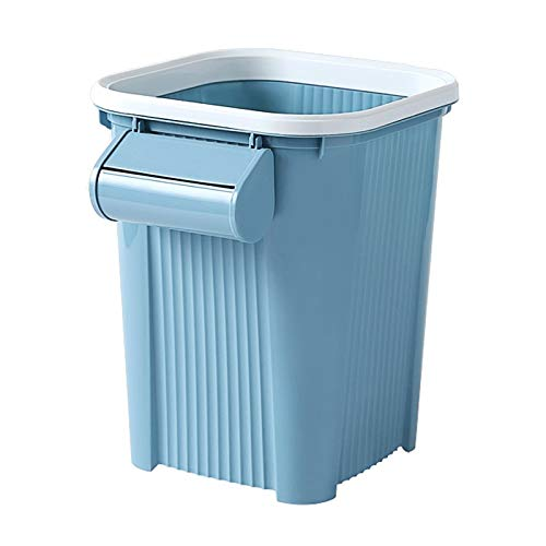 LELME Nordic Wind Belt Druckring Mülleimer Home Küche Wohnzimmer Toilette Abfalleimer -