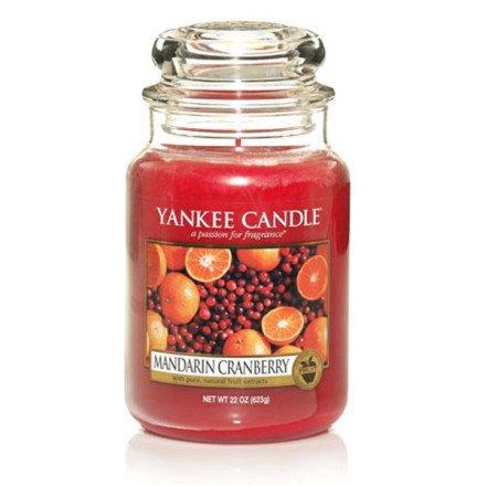 Mandarin Cranberry Yankee Candle ('Duftkerze Mandarin Cranberry, großes Glas 150Stunden Yankee Candle