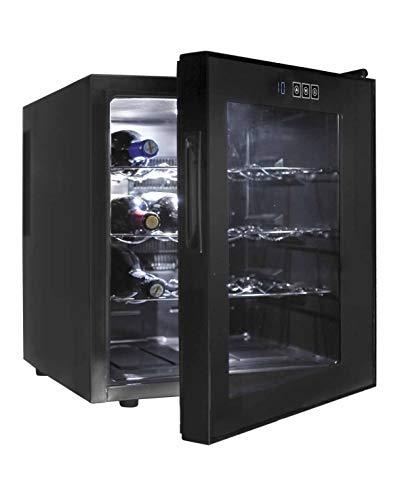 Lacor 69186 16 Flasech Einzahnen Weinkühler, schwarz Schwarz Utensil