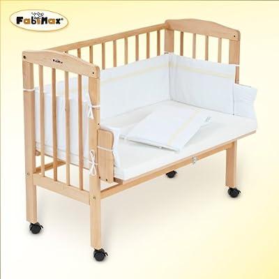 FabiMax Beistellbett BabyMax classic mit Matratze und Nestchen Hanna, 6 Farben zur Auswahl