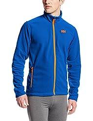 Helly Hansen Daybreaker Fleece - Chaqueta polar para hombre, color azul, talla M