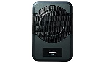 Alpine PWE-S8 Powered 8-inch Quad-Coil Subwoofer Box with built-in amplifier