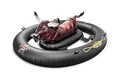 Idea Regalo - Intex 56280 - Inflatabull - Stampa Realistica, Nero/Marrone, 239 x 196 x 81 cm