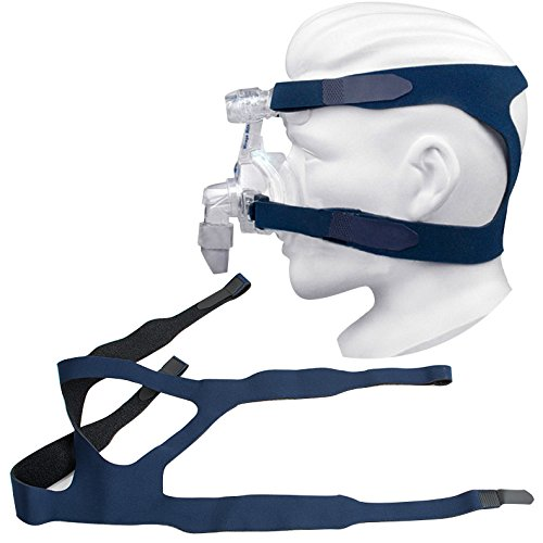 Cpap-maske Kopfbedeckung (finlon Universal Kopfbedeckung Gel Komfort Full Maske Ersatzteil CPAP-Head Band für Respironics Resmed resmart ohne Maske)