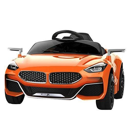 GetBest Z4 Battery Operated Ride on Car for Kids with Swing and Remote Control, Orange