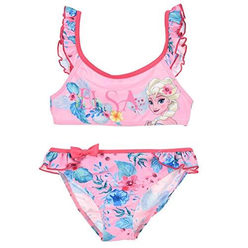 Frozen - Die Eiskönigin Bikini ELSA (116 - ca. 6 Jahre, pink) (Mädchen Frozen Bikini)