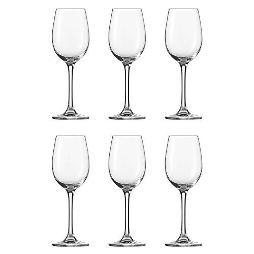 Schott Zwiesel 106222 'Classico' Weinkelch, Weinglas, 221ml, H 19,2cm, klar (6 Stück)