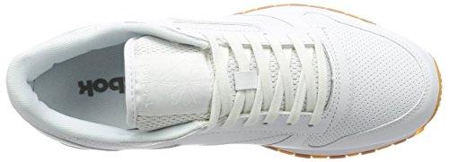 Reebok Uomo Scarpe / Sneaker Classic Leather PG Bianco