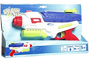 VEDES Großhandel GmbH - Ware 76507040Splash & Fun Pistola de Agua, Balas de un, Multicolor