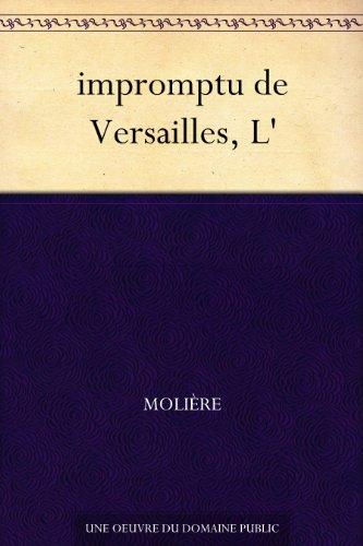 Couverture du livre impromptu de Versailles, L'