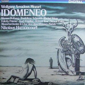 Mozart: Idomeneo (Gesamtaufnahme, italienisch) [Vinyl Schallplatte] [4 LP Box-Set]