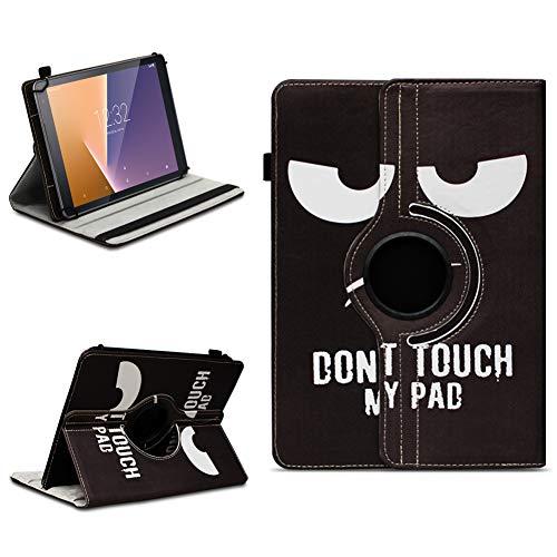 na-commerce Tablet Schutzhülle Vodafone Tab Prime 6/7 360° drehbar Tasche Cover Case Etui, Farben:Motiv 5