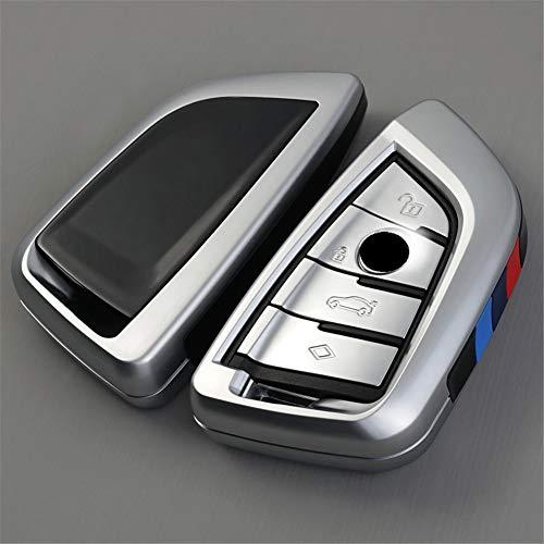 XUWLM Schlüsselanhänger ABS Autoschlüssel Cover Case Plating Fernbedienung Schlüssel Tasche Halter für BMW X1 X5 X6 F15 F16 F48 BMW 1/2 Series Klinge Schlüsselanhänger, Stil 6 -