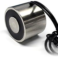 ue-tech DC24V 88Lb/40.0kg Levantamiento electroimán imán solenoide Ascensor Holding ue-4030–24V