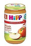 HiPP Früchte Pfirsich in Apfel, 6er Pack (6 x 250 g)