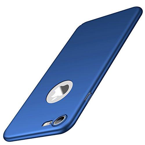 Arkour für iPhone 7 Hülle, Minimalistisch Ultradünne Leichte Slim Fit Handyhülle mit Glattes Matte Oberfläche Hard Case für iPhone 7 (Glattes Blau) 7 Hard Case