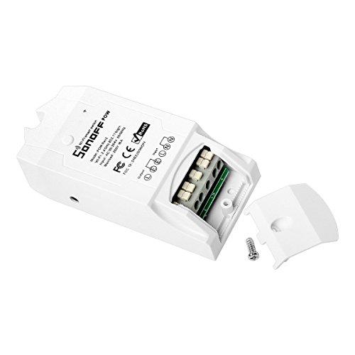 Sonoff Pow R2 Contrôleur intelligent de commutateur de Wifi avec la mesure de consommation de puissance en temps réel 16A / 3500w Smart Home Device via iOS Android