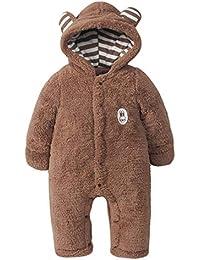 Kleinkind Baby Kinder Winter Overall Karneval Cosplay Ohren Kostüm Pjs Jumpsuit