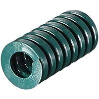 Sourcingmap - Molde de compresión para estampación en espiral (20 mm, 2 unidades), color verde